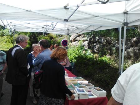 La librairie organisée par L'Amitié François Fabié - Président Jean-François Costes
