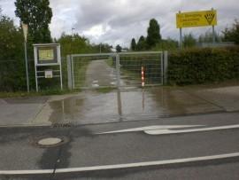 Zugang zum SCB Laurenzberg