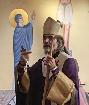 Mgr Martin, évêque de saint Maximin-La Sainte Baume.