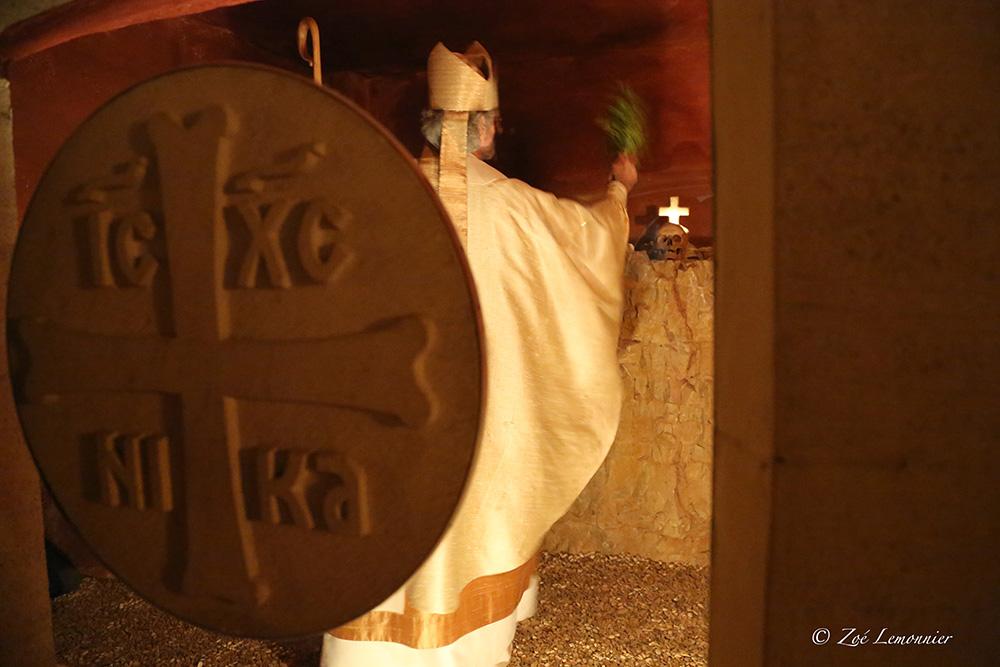 Consécration de l'ossuaire de saint Lazare