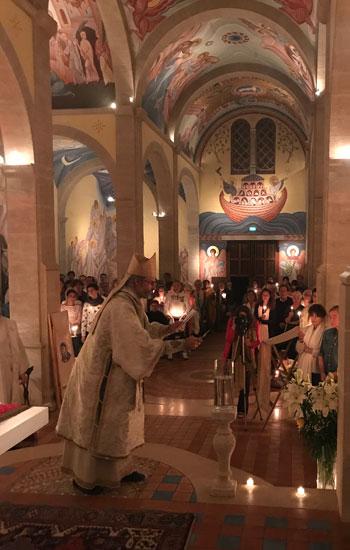 Bénédiction de l'Eau baptismale