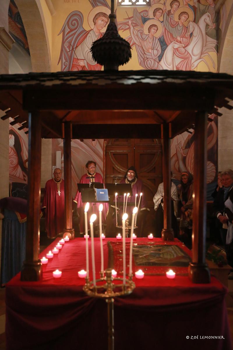 Vendredi Saint - Dépose de l'Epitaphios au Tombeau