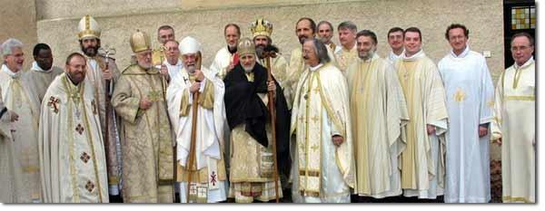 Sacre de Mgr Grégoire, 17 décembre 2007. Eglise Orthodoxe des Gaules
