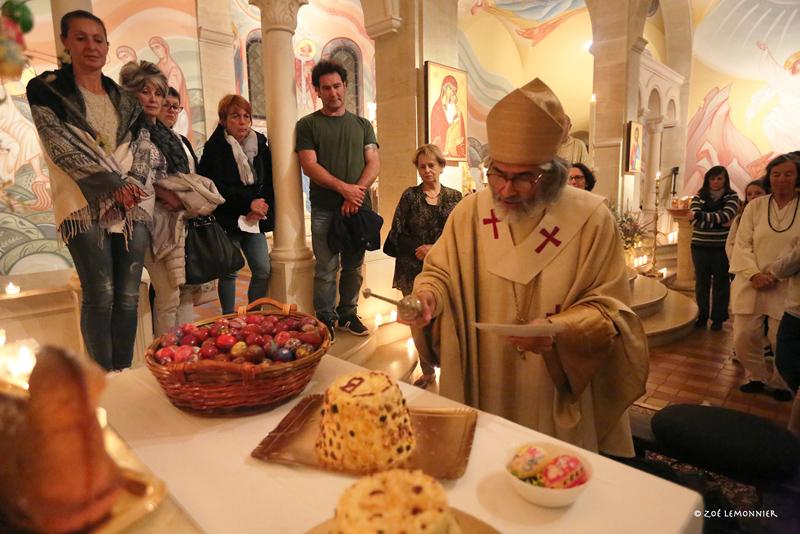Bénédiction de la Paska (Dessert pascal de tradition Russe)