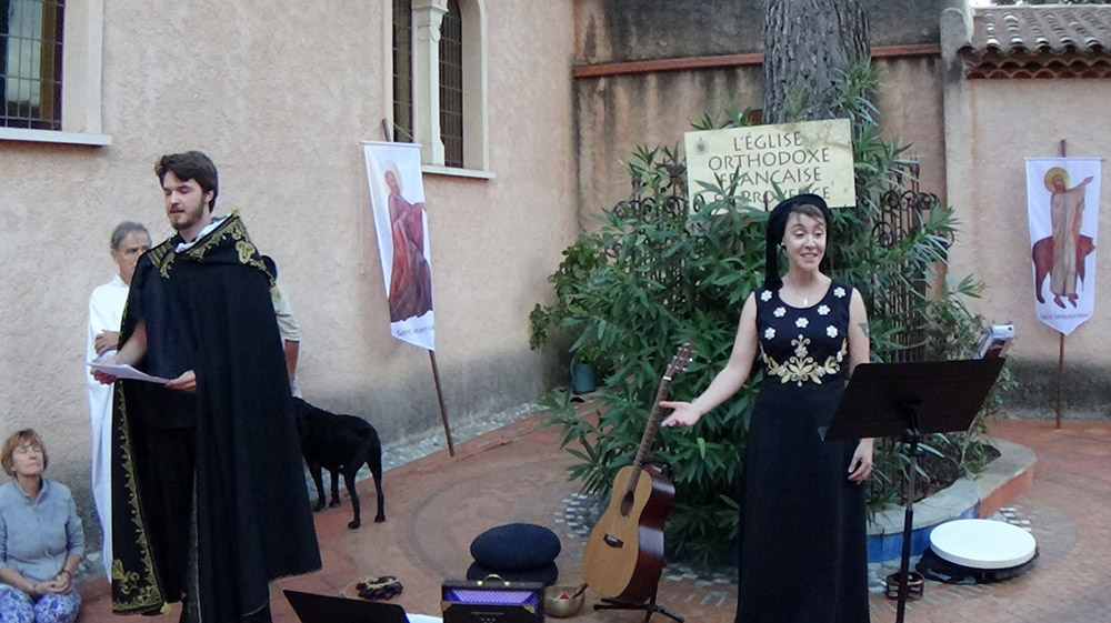 """2 - L'EOF EN PROVENCE - Le """"dit"""" de l'arbre de la manifestation par Maryah et Charles"""