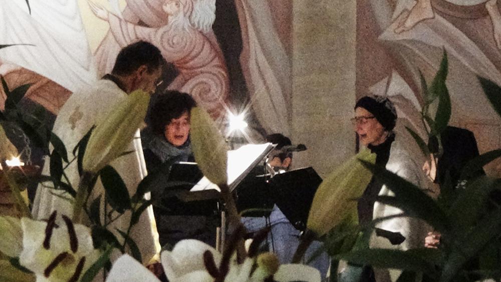 La chorale dominicale