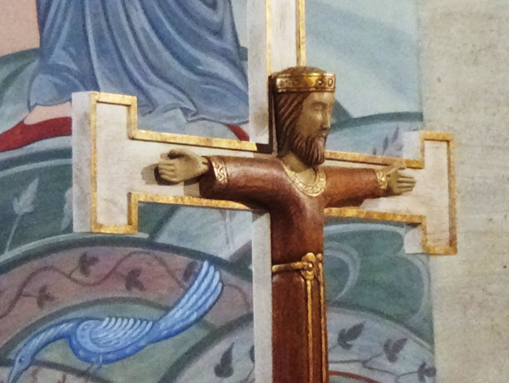 Style Roman du XIII°s. - (Artisanat de la Chartreuse de la Verne)