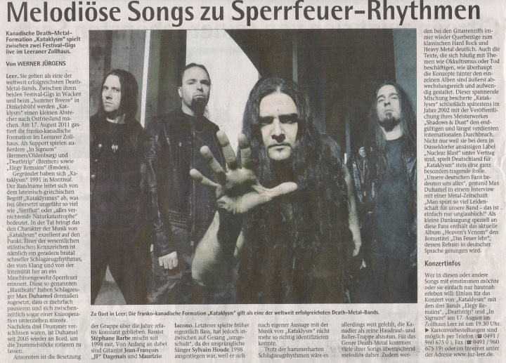 Sonntagsblatt 14.08.2011