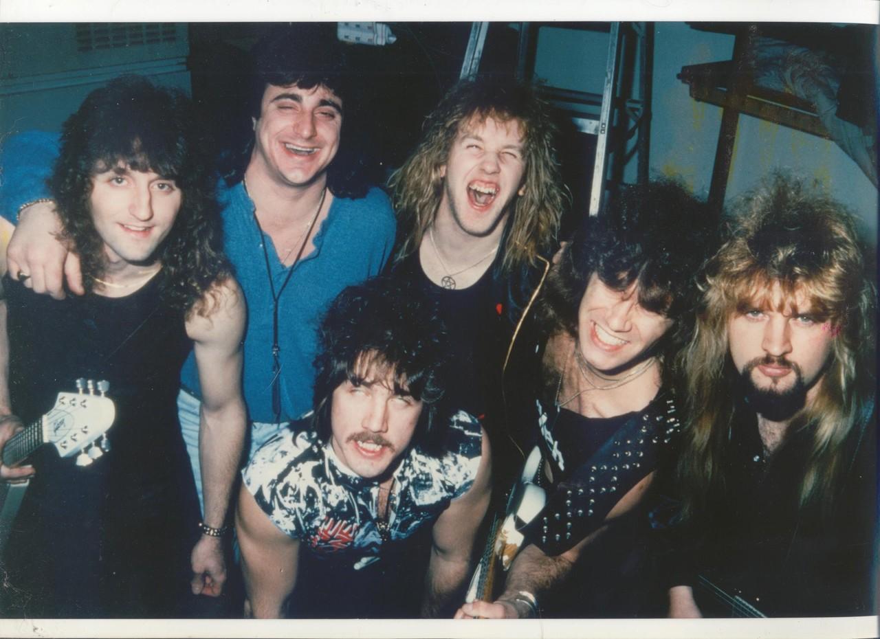 Kips West dressing room 1989