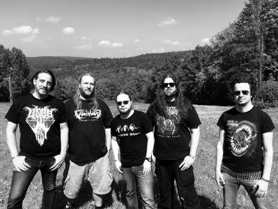 2018 From left to right Philipp, Leif, Bass-T, Mücke, Arne.