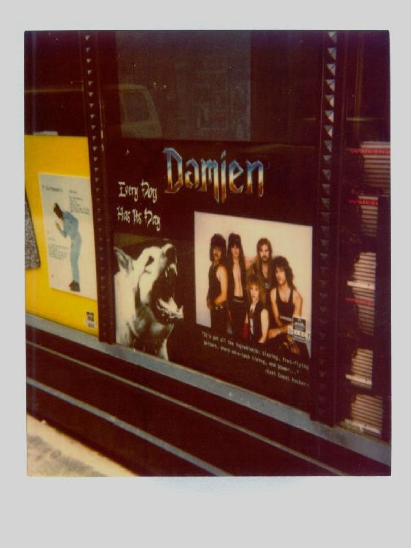 This was in A Record Store Window in New York City