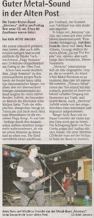 Emder Zeitung 02.05.2011