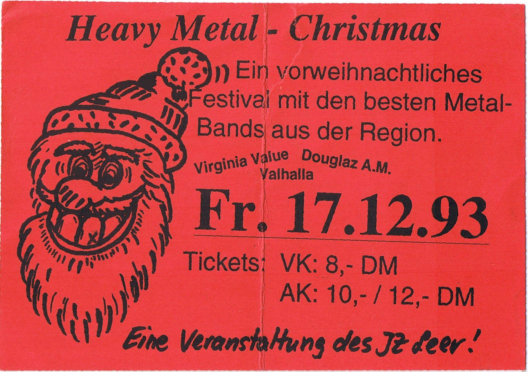 Live im Juz Leer 1993