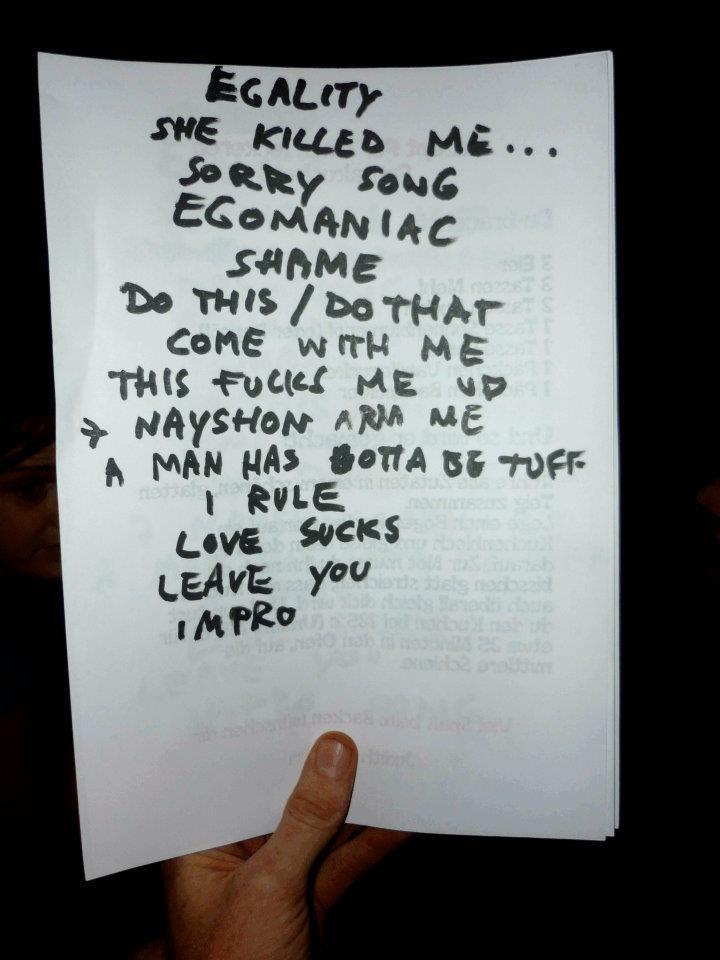 Setlist 2011