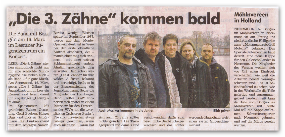 Sonntags Report 10.03.2013