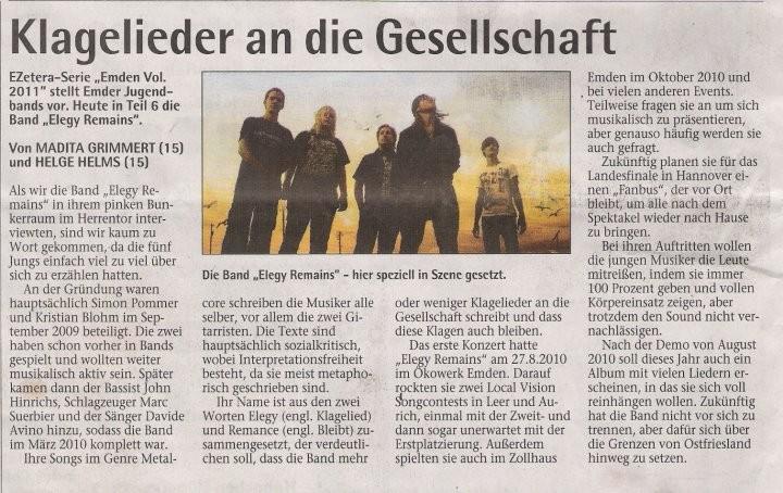 Sonntagsblatt 29.05.2011