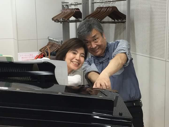清水敬一先生と川井敬子先生