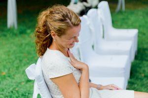 die Hochzeitsplanerin Stefanie Frädrich ist gerührt