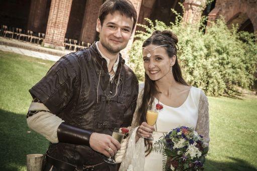 Hochzeitsplaner Berlin und Brandenburg - Mittelalter Hochzeit - Brautpaar Mittelalter