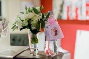 nützliches Gastgeschenk für die Gäste, wenn sie die Hochzeitsfeier verlassen