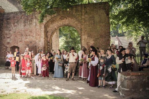Hochzeitsplaner Berlin und Brandenburg - Mittelalter Hochzeit - Klosterinnenhof