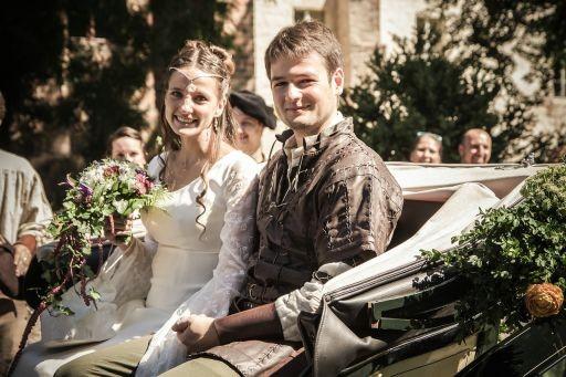 Hochzeitsplaner Berlin und Brandenburg - Mittelalter Hochzeit - Hochzeitskutsche