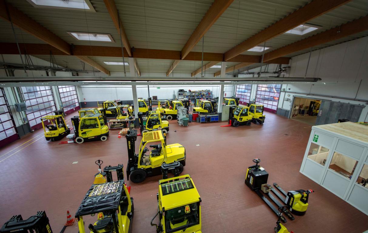 Norgatec Werkstatt Gabelstapler Reparatur Oststeinbek