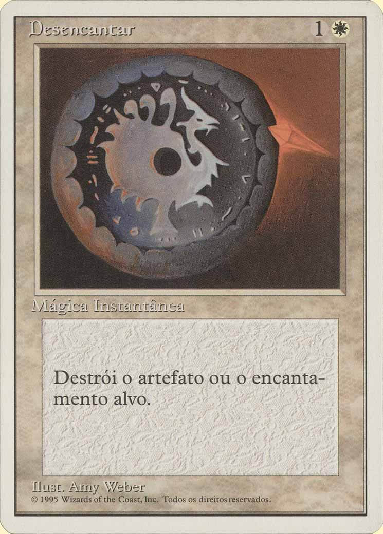 Disenchant Portuguese Fourth Edition