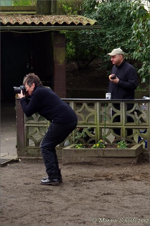 Fotografen wohin man schaut