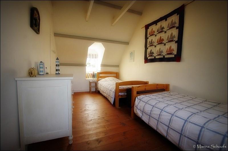 Schlafzimmer Nr. 3 (Kinderzimmer) mit zwei Einzelbetten