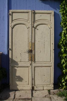 portes double face  chêne 124 x 223.5 cm .350 euros