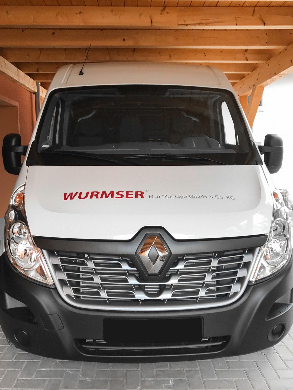 folien-fabrik / Wurmser Bau Montage GmbH & Co. KG / Corporate Identity