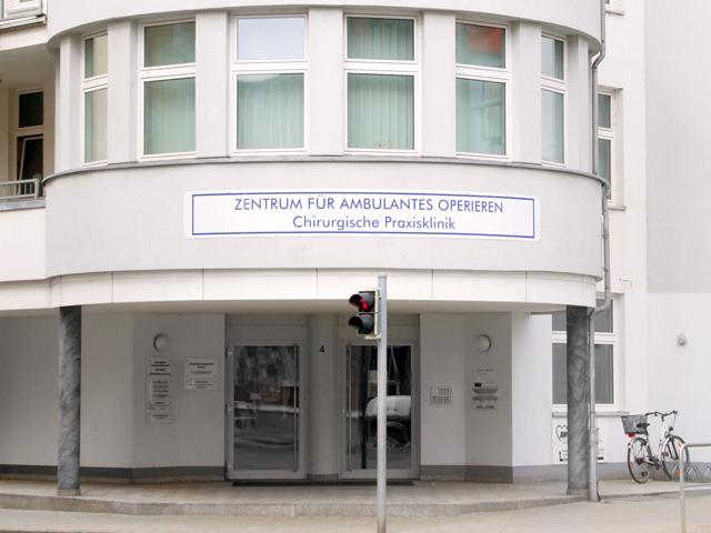 folien-fabrik / Zentrum für ambulantes Operieren / Beschilderung