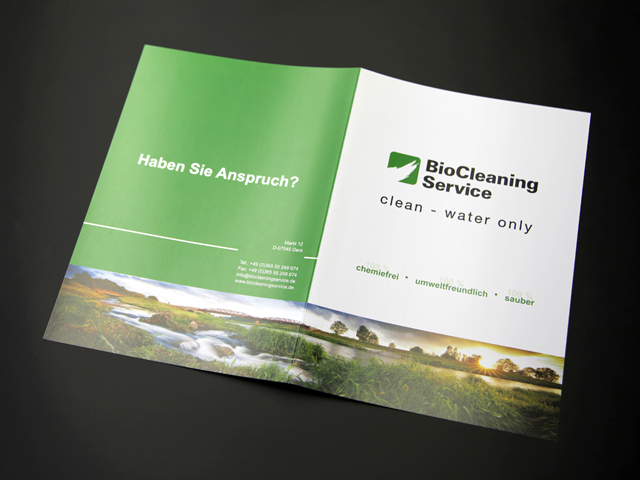 folien-fabrik / BioCleaning Service / Corporate Identity