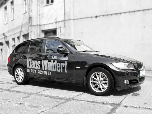 folien-fabrik / Fahrschule Woldert / Fahrzeugbeschriftung