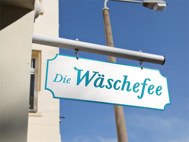 folien-fabrik / Die Wäschefee / Stechschild