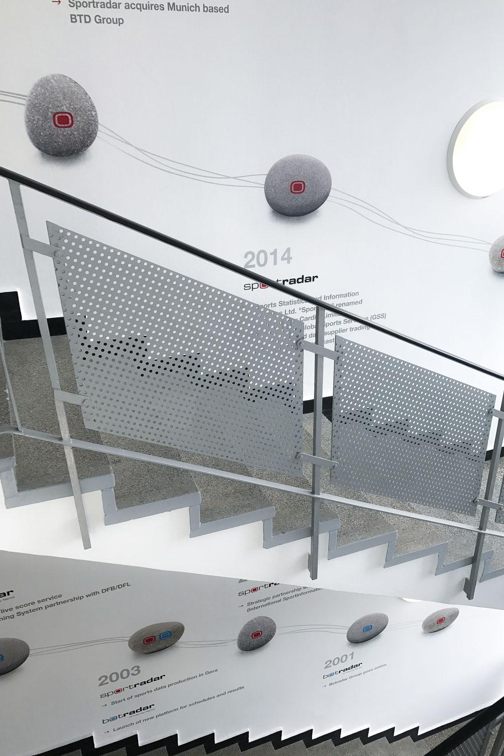 folien-fabrik / Sportradar AG / Staircase Branding