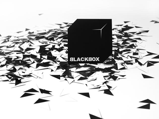 folien-fabrik / Kunstausstellung Blackbox / Corporate Identity