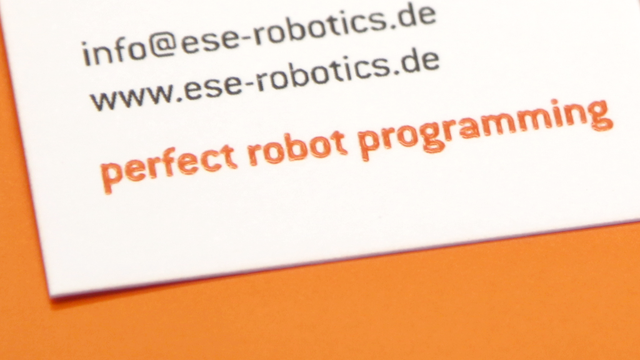 folien-fabrik / ese robotics / Corporate Identity