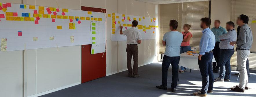 Lean Office : Analyse de déroulement et reconception d'un processus transversal (1 à 3 jours)