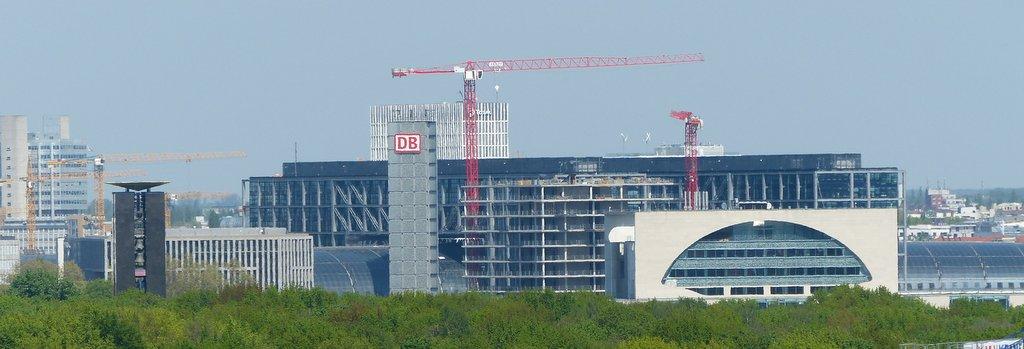 Kanzleramt & Hauptbahnhof