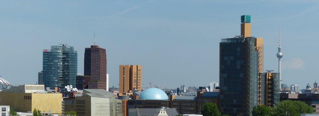 Potsdamer Platz von oben