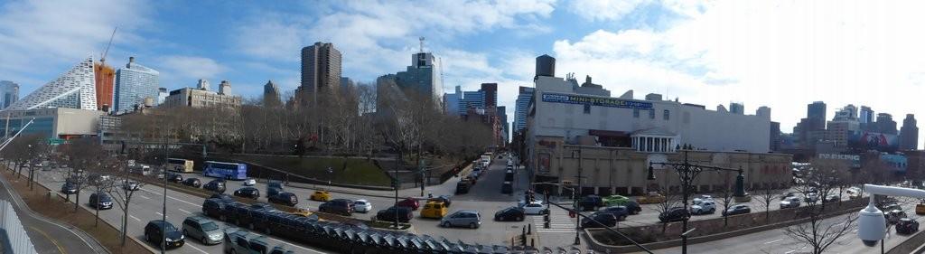 Stadtblick von der Armory