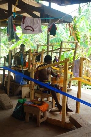 Kente Weaving Village Kumasi