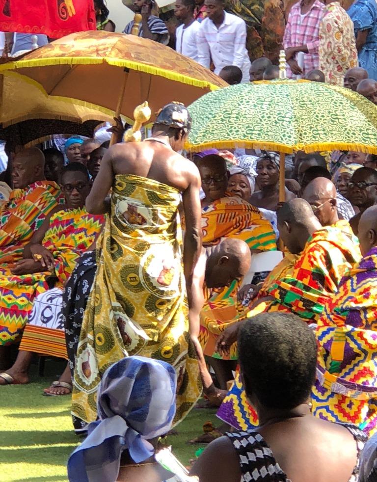 Hornblowers Akwasidae Festival Ghana