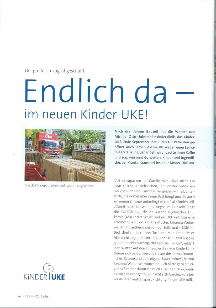 UKE Artikel Seite 1