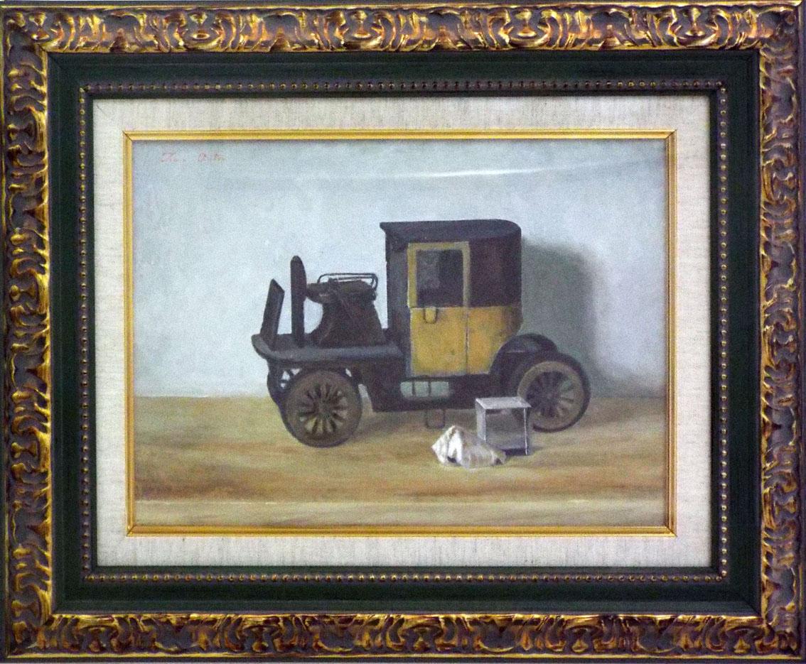 ノスタルジック「ブリキの車」
