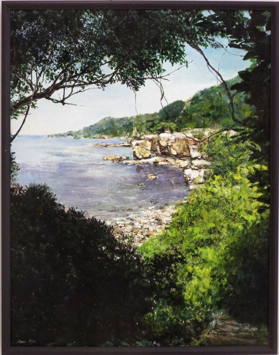 渚への道(平和の風景2)