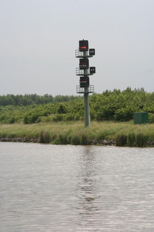 Liikennevalot Kielin kanavalla