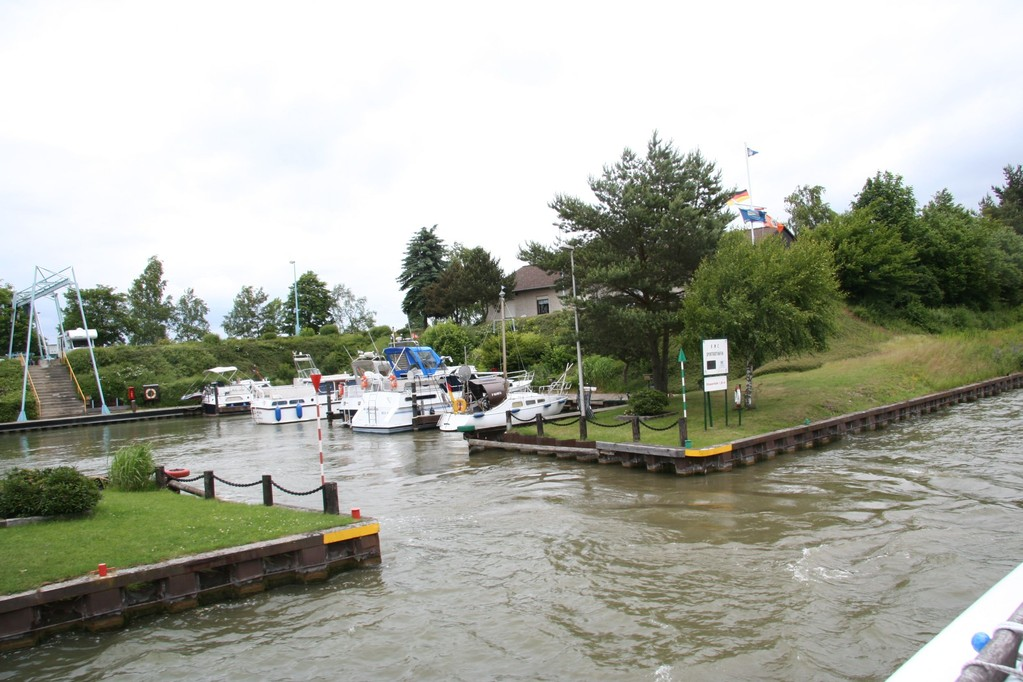 Vierasatama, Mittellandkanal